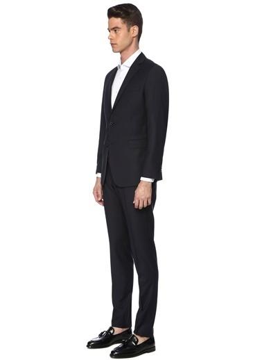 George Hogg George Hogg 7003495 Slım Fit Lacivert Takım Elbise Erkek Takım Elbise Lacivert